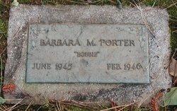 Barbara Marie Bobbie Porter