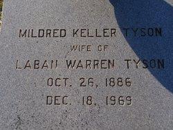 Mildred Campbell <i>Keller</i> Tyson