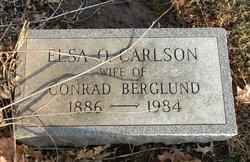 Elsa O <i>Carlson</i> Berglund