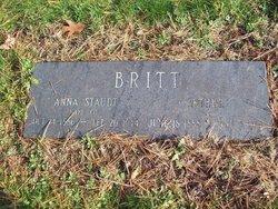 Anna <i>Staudt</i> Britt