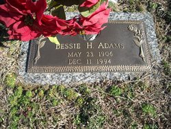 Bessie Jane <i>Hooper</i> Adams