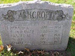 Richard Ackroyd Ashcroft, Sr