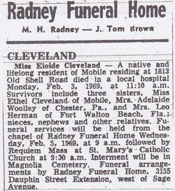 Eloide Ethel Cleveland