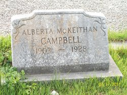 Alberta <i>McKeithan</i> Campbell