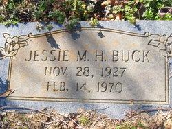 Jesse Mae <i>Hill</i> Buck