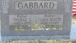 Clara <i>Miller</i> Gabbard