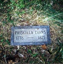 Priscilla Prissi <i>Bosley</i> Evans