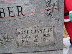 Anne Elizabeth <i>Chandler</i> Barber