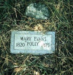Mary Polly <i>Burgess</i> Evans