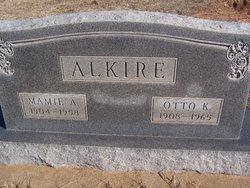Mary A Mamie <i>Sontag</i> Alkire