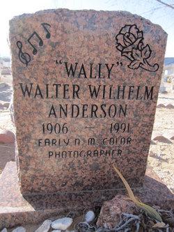 Walter Wilhelm Wally Anderson