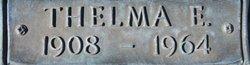 Thelma E. <i>Lincecum</i> Grimes