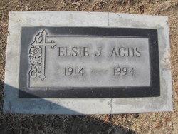 Elsie J <i>Sandrini</i> Actis