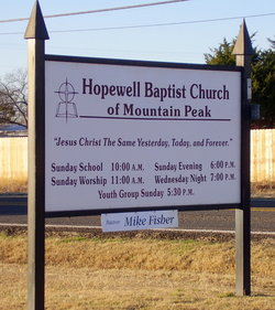 Mountain Peak Cemetery