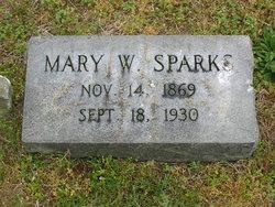 Mary Wilamena <i>Dulin</i> Sparks