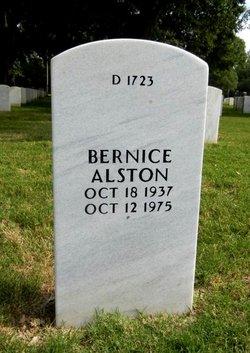 Bernice Alston