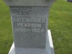 Kate <i>Mosher</i> Pearson