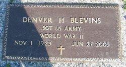 Denver H Blevins