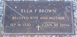 Ella Elizabeth <i>Farmer</i> Brown