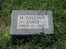 M. Coleman Asher
