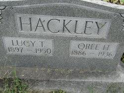 Lucy Texas <i>Hitt</i> Hackley Jackson