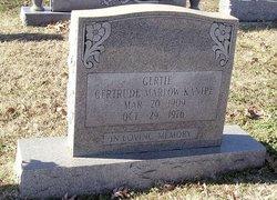 Emma Gertrude Gertie <i>Marlow</i> Kanipe