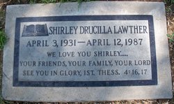 Shirley D <i>Meeker</i> Lawther
