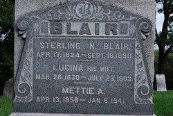 Mettie A. Blair