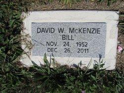 David William Bill McKenzie