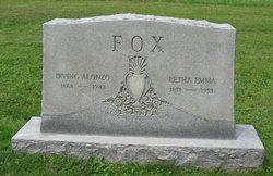 Letha Emma <i>Wolfe</i> Fox