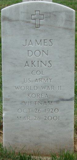 James Don Akins