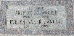 Evelyn <i>Baker</i> Langlie
