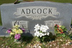 J Corie Vernon Adcock