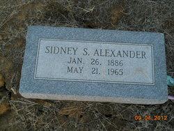 Sidney S Alexander