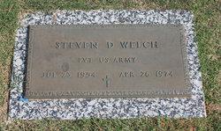 Steven D Welch