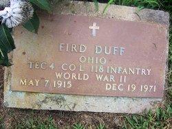 Fird Duff