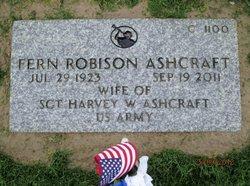 Fern Eliza <i>Robison</i> Ashcraft