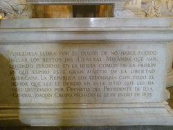 Gen Francisco De Miranda