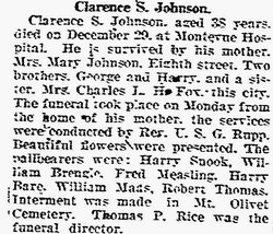 Clarence Scott Johnson