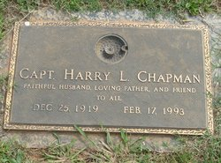 Capt Harry Lloyd Chapman