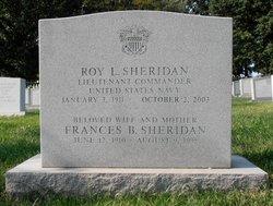 Frances B Sheridan