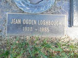 Jean <i>Ogden</i> Loshbough