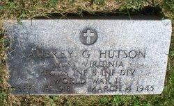 Aubrey G Hutson