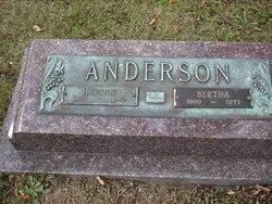 Bertha Betty <i>Goebel</i> Anderson