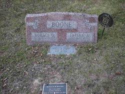 Frieda Amelia <i>Goebel</i> Boone