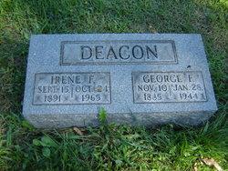 Irene F. <i>Levine</i> Deacon