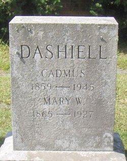 Mary W. <i>Hopkins</i> Dashiell