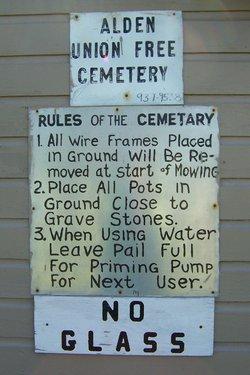 Alden Union Free Cemetery
