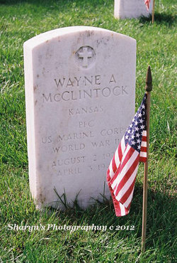 PFC Wayne Allan McClintock