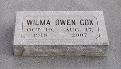 Wilma Alene <i>Oster Owen</i> Cox